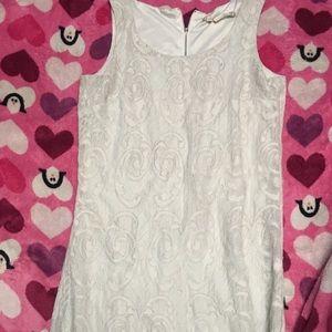 Dresses - White shorty dress